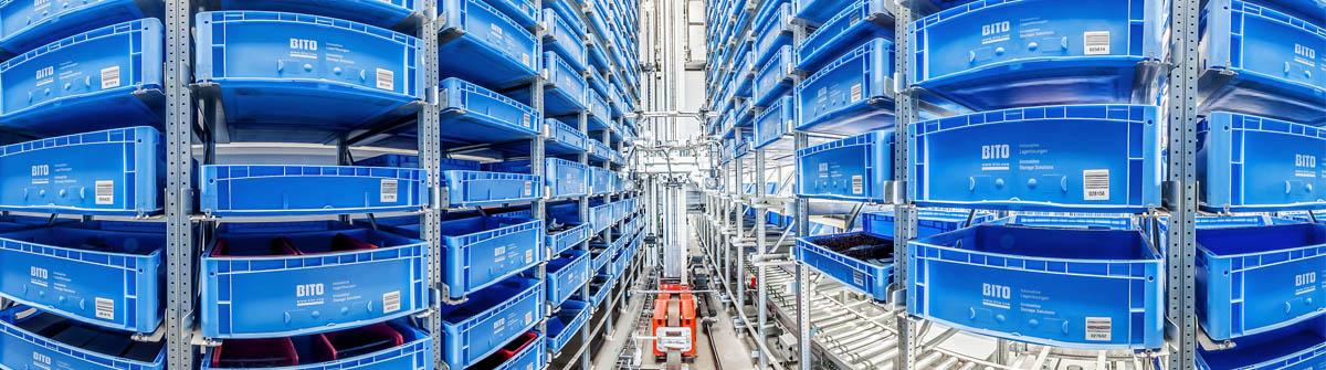 Small Parts Warehouse Klinkhammer Intralogistics
