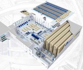 Spiral: New Logistics Center in Vienna